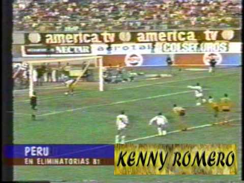 Peru: Eliminatorias Mundial España 82 (1981)