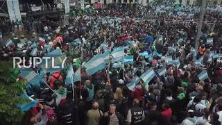 Argentina: Hundreds of thousands unite in mass for