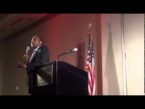 Dr  Ben Carson, NC GOP Convention Prayer Breakfast, Raleigh