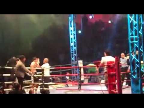 Debut de Walter ''El Boqui'' Santana vs. Sergio Timo.