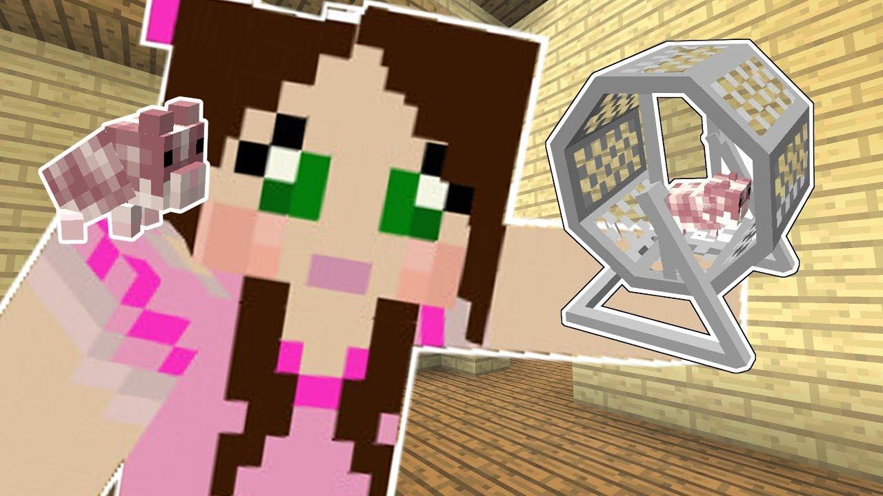 Minecraft: LITTLE PETS!! (HAMSTERS, HEDGEHOGS, & FERRETS!) Mod Showcase