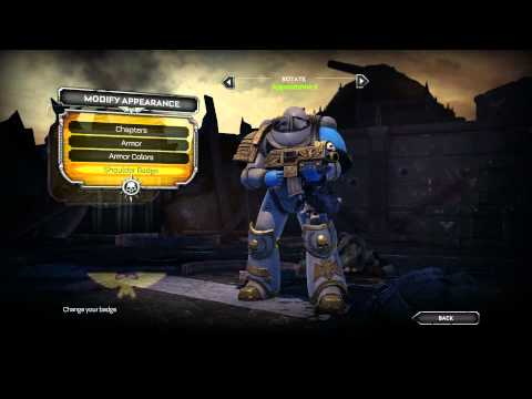 [W40k SM] Mixing Normal/Chapter Armors (for PC) |