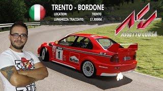 Assetto Corsa - Trento/Bondone - LancerEvo - Practic session - GAMEPLAY ITA