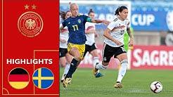 Starken DFB-Frauen glückt WM-Revanche | Deutschland - Schweden 1:0 | Highlights | Algarve-Cup