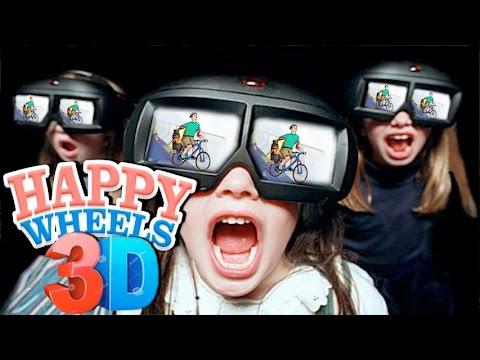 HAPPY WHEELS 3D ► GutsnGlory |1| ВЗРЫВ МОЗГА