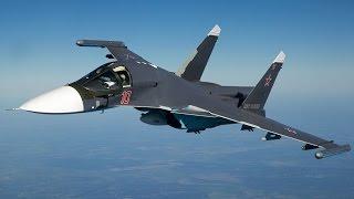 """Легендарные самолёты. Сухой Су-34 """"Универсальное оружие"""""""