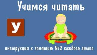 Діти Вчаться Читати: ''Чарівний зоопарк Умачка'' - інструкція до другого заняття кожного етапу