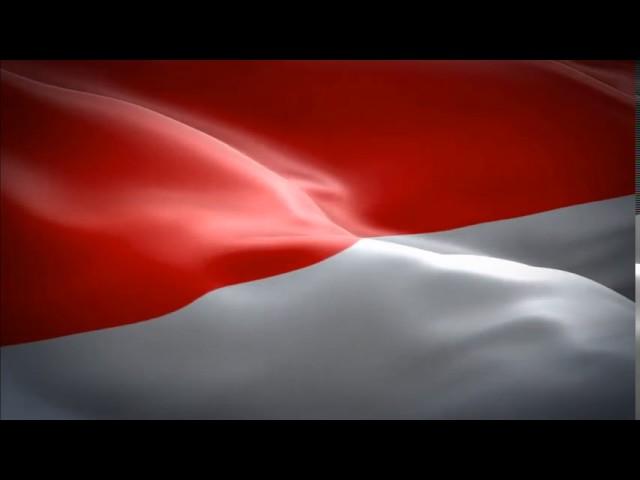Animasi Bendera Merah Putih Instrument Tanah Airku No Copyright Youtube