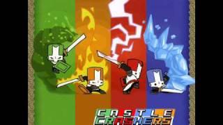 Castle Crashers Music Forest Entrance