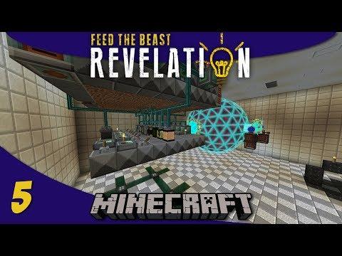 Automated Fortune Ore Processing & XNet Mob Farm: 1.12 Modded Minecraft FTB Revelation SMP : E05