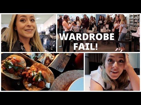 Wardrobe FAIL in Manchester!