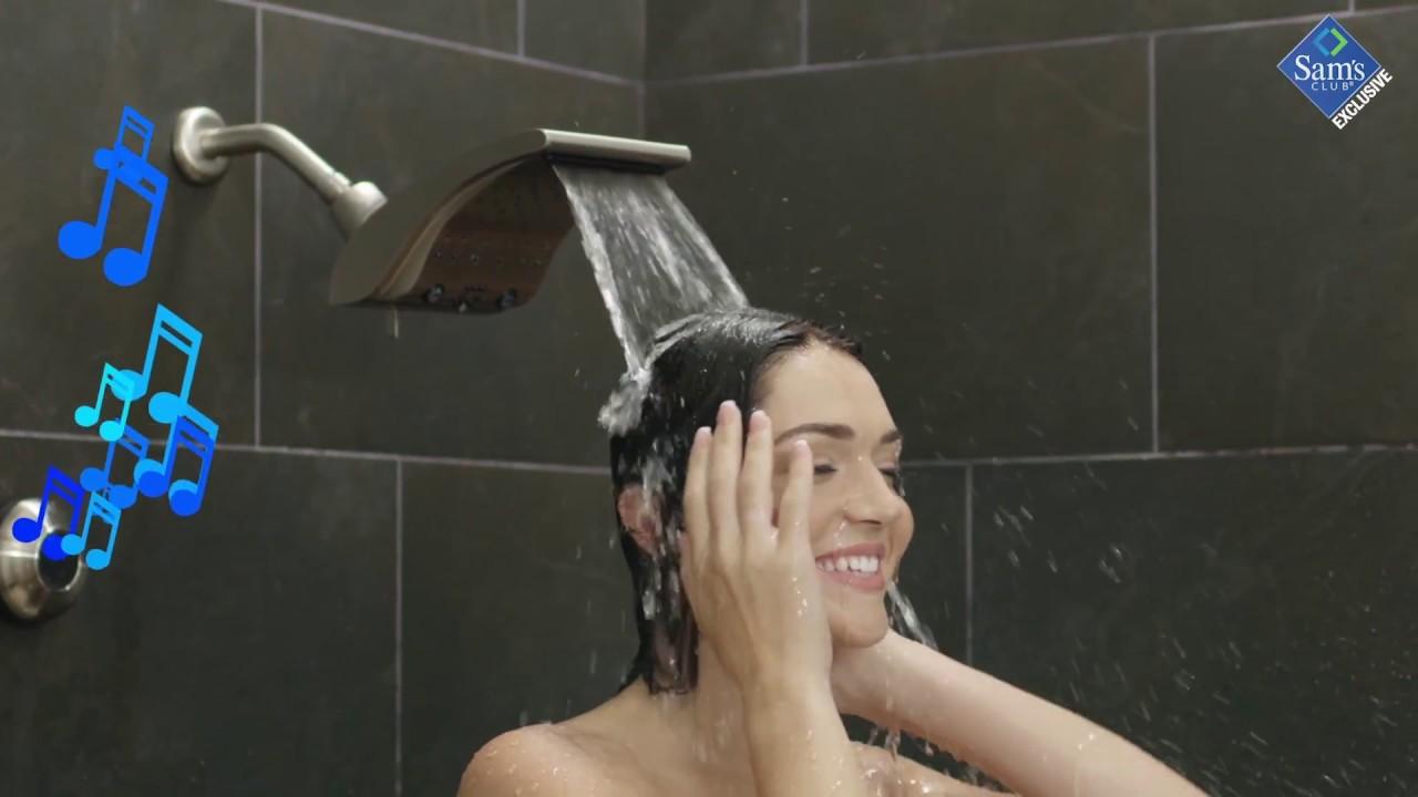 Oxygenic Evolution Shower Head Model 34588 Brushed Nickle Rain Shower