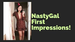 Nasty Gal Try On Haul Size 12 14