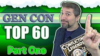 Top 60 Board Games At Gen Con 2019 | Part 1