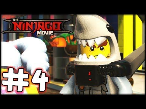 LEGO Ninjago The Movie - Videogame - Part 4 - 100 Combo! (Gameplay Walkthrough HD)