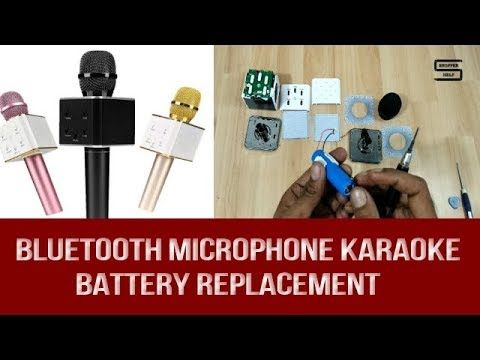 Karaoke Microphone battery replacement for KTV Q7 Wireless Bluetooth microphone and speaker