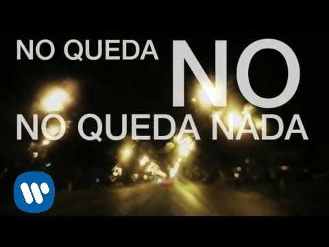Felipe Santos - No queda nada (lyric video)