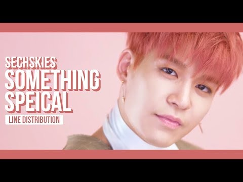 SECHSKIES - SOMETHING SPECIAL Line Distribution (Color Coded) | 젝스키스 - 특별해
