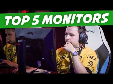 Top 5 144Hz Monitors 2016/2017 - CS:GO