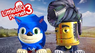Sonic The Hedgehog Movie Trailer LittleBigPlanet 3 Version