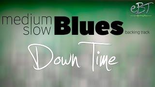 Medium Slow Blues Backing Track in A Major | 65 bpm