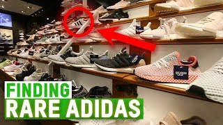 FINDING RARE ADIDAS SNEAKERS!! - YouTube