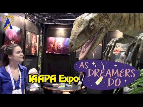 Exploring IAAPA Attractions Expo 2017 - As Dreamers Do
