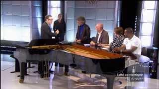 Hungarian Dance No. 5 piano for four hands - Brahms - François-Frédéric Guy