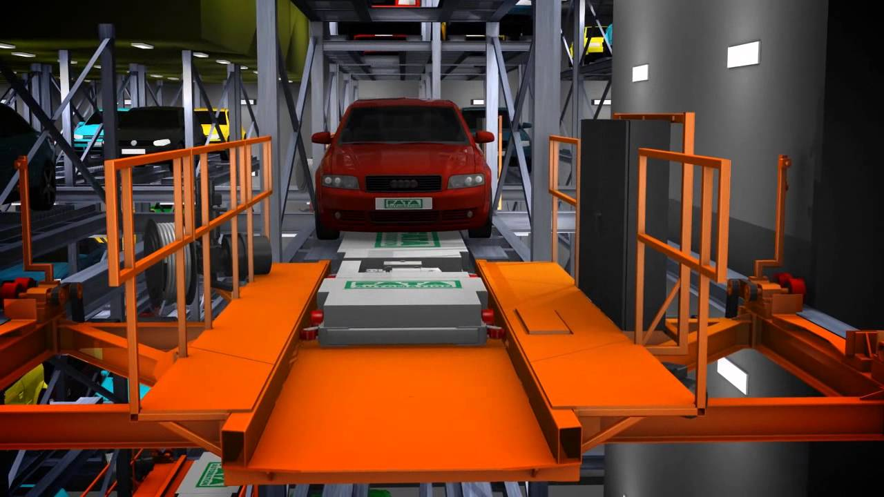 Fata Shuttle Automated Parking System Project Youtube