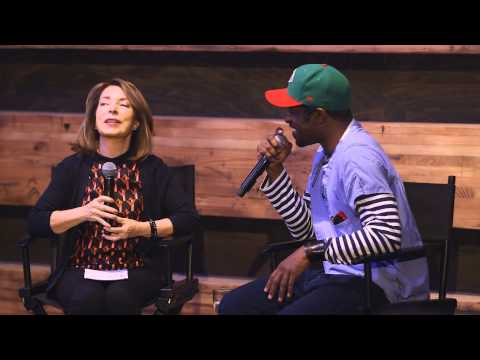Paula Wallace and André 3000 Benjamin conversation at Design ...