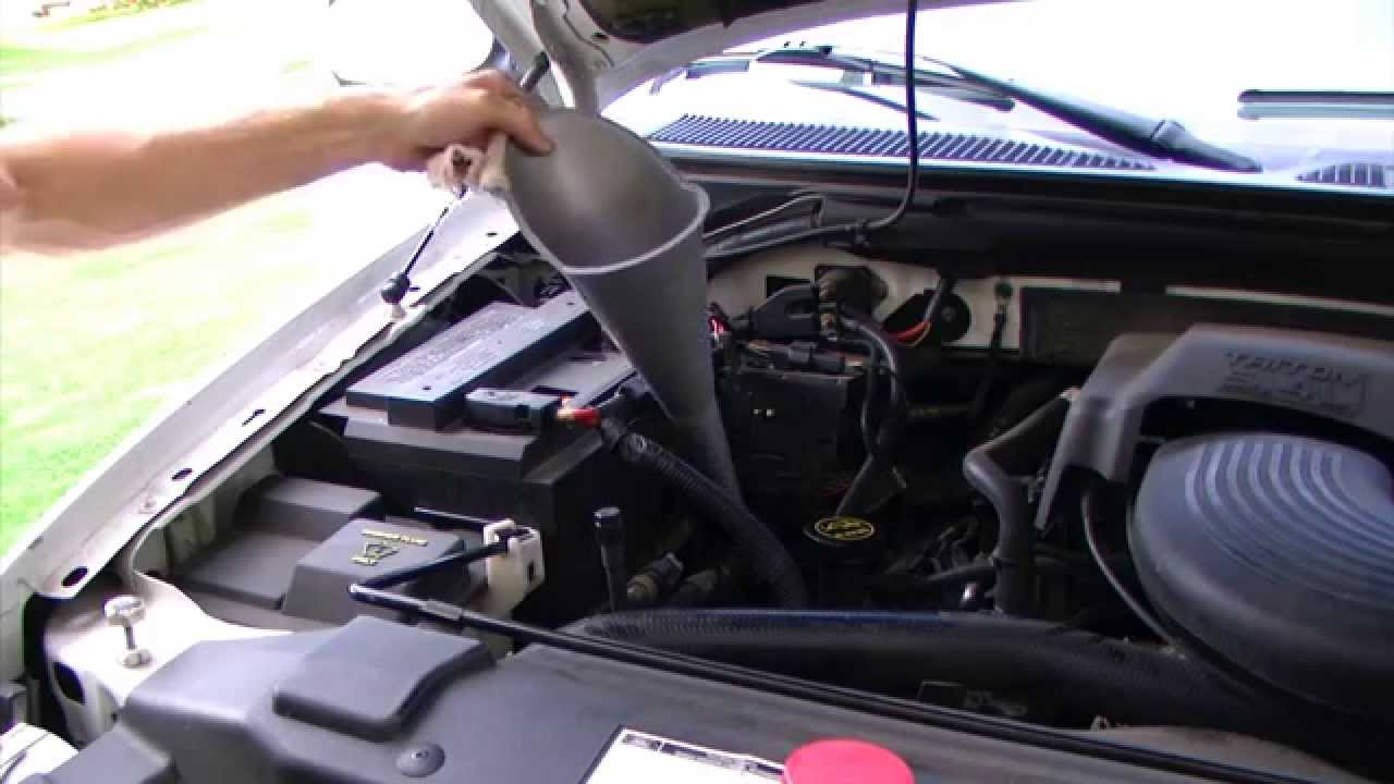 How To Check Transmission Fluid 2001 Ford F150 Youtube
