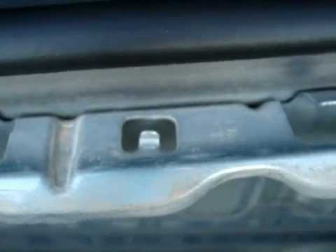 how to fix rear bumper