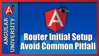 angular 2 router configuration avoid a pitfall right from the start setup router debugging