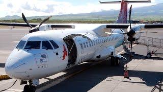 Gopro Aerospatiale Atr 72 212 Island Air Hawaii Honolulu, Oahu To Kahului, Maui