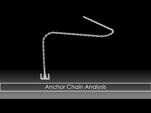 Anchor Chain Test with Autodesk Inventor