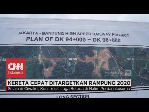 Kereta Cepat Jakarta-Bandung Ditargetkan Rampung 2020