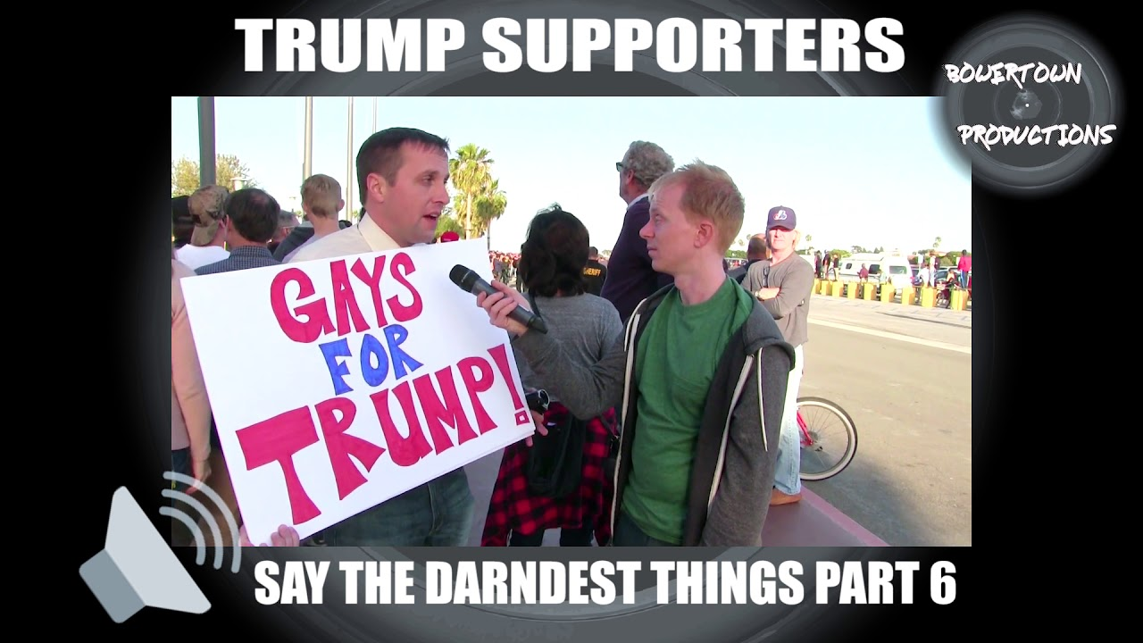 Download Trump supporters say the darndest things, part 6