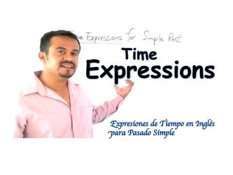 Expresiones de tiempo en ingl s en pasado simple aprende for Tiempo aprender ingles