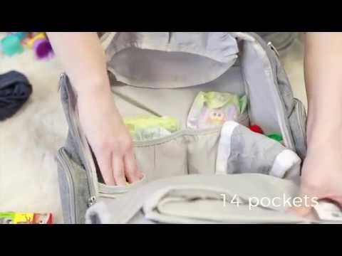 Product Video - Bag Nation Diaper Backpack