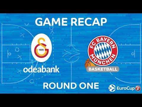 Highlights: Galatasaray Odeabank Istanbul - FC Bayern Munich