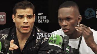 Исраэль Адесанья против Пауло Косты / Пресс конференция перед боем на UFC 253