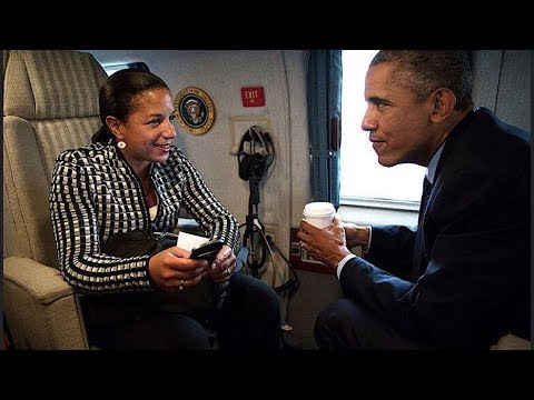 MASSIVE COVERUP: WHAT OBAMA WAS CAUGHT DOING YESTERDAY WITH SUSAN RICE IS TREASONOUS