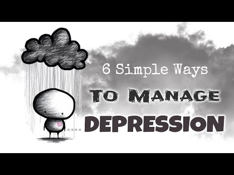 6-simple-steps-to-manage-depression-||-lifestyle-||-mind-talks
