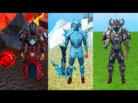 All Dyed T92 Weapons And Armour (Third-age, Blood, Ice, Shadow And Barrows) – RuneScape 3