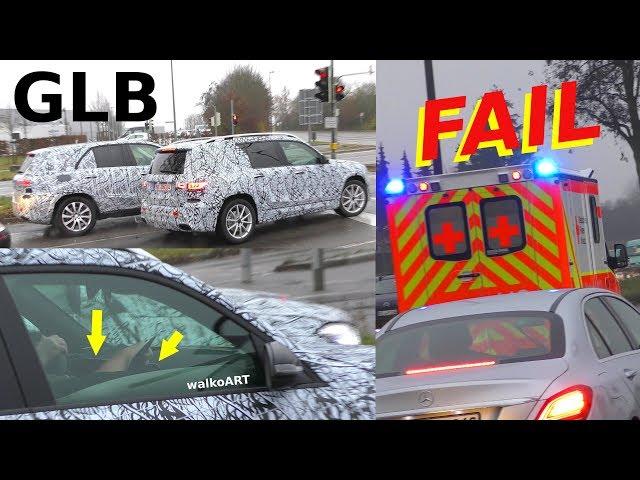 Mercedes Erlk├╢nig ALARM! GLB prototype fail clip - GLB 2019 Video - Pleite - 4K SPY VIDEO