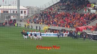 Göztepe 3 3 Osmanlıspor maç başlarken