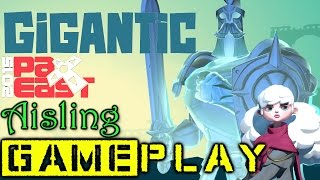 Gigantic - PAX East 2015 Aisling Gameplay (Close Match!)