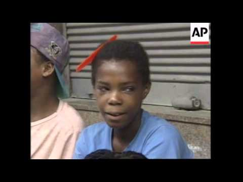 BRAZIL: STREET CHILDREN BEING EXPLOITED BY ADULTS