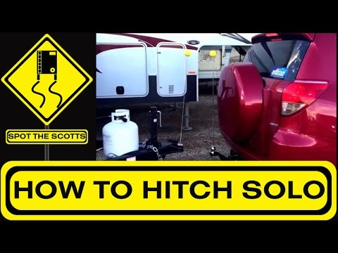 Backing Up Using Solo Hitch {Spot The Scotts #1}