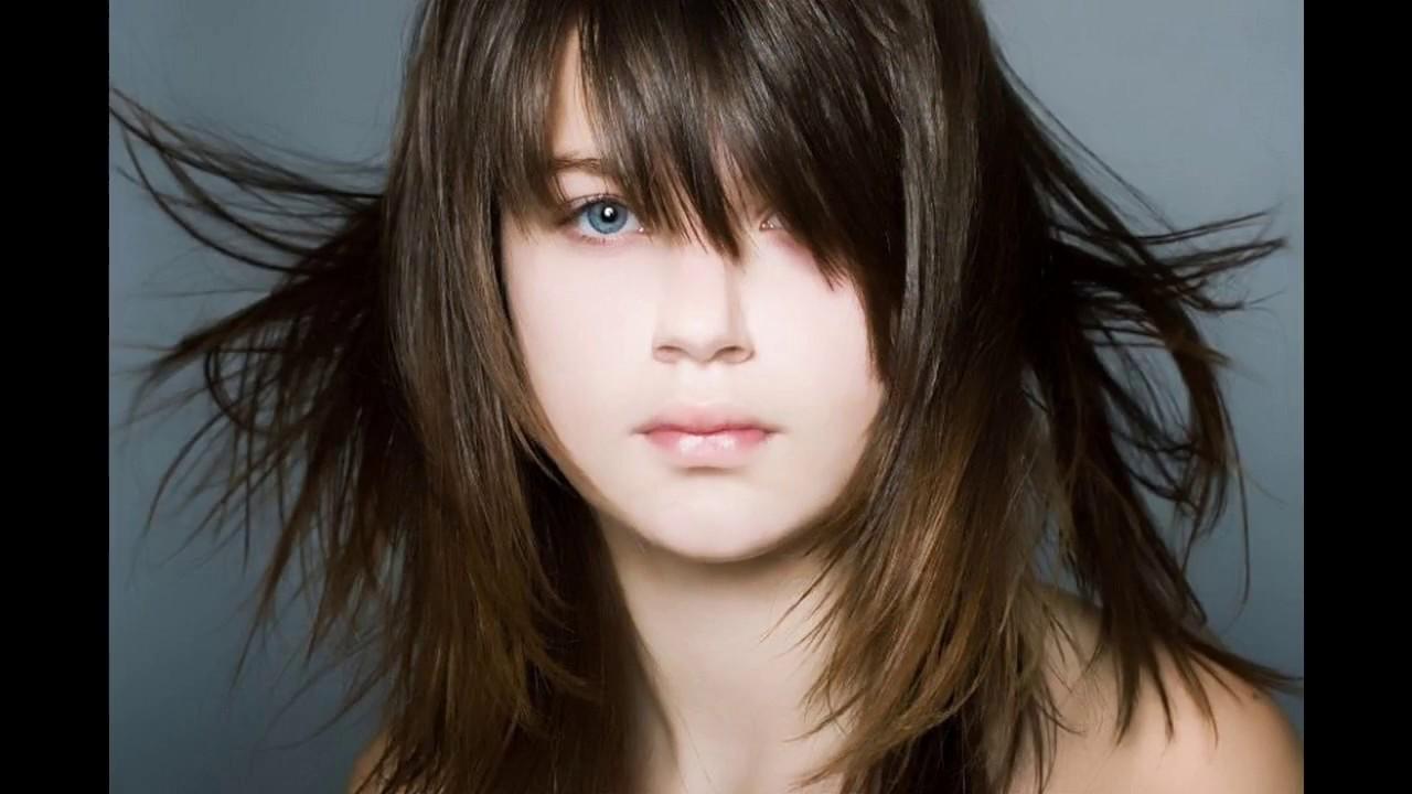 Frisuren Für Hohe Stirn Und Feines Haar